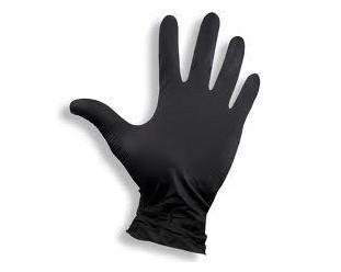 """Rękawice nitrylowe czarne """"S"""" 100szt."""