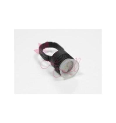 RING, Pierścień do pigmentu - czarny