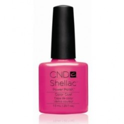 CND SHELLAC HOT POP PINK 40519