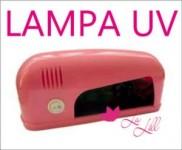 Lampa UV 9W (rózowa)