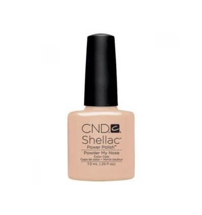 CND SHELLAC POWDER MY NOSE - OPEN ROAD