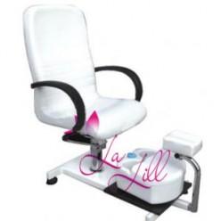 C Fotel kosmetyczny hydrauliczny SPA z masażerem