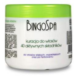 Kuracja do włosów z 40 aktywnych składników