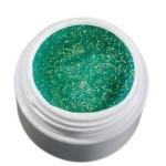 Color Gel zielony/brokatowy żel, 5g
