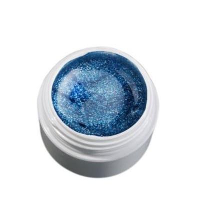 Color Gel lodowy niebieski/brokatowy żel, 5g