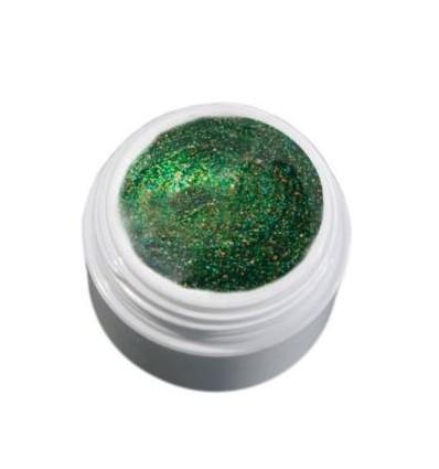 Color Gel szmaradowy zielony brokatowy żel, 5g
