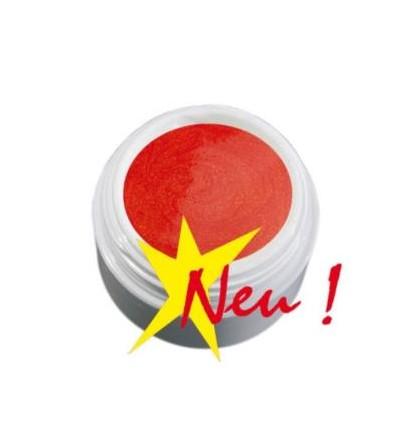 Color Gel  perłowy jasno czerwony żel,  5g
