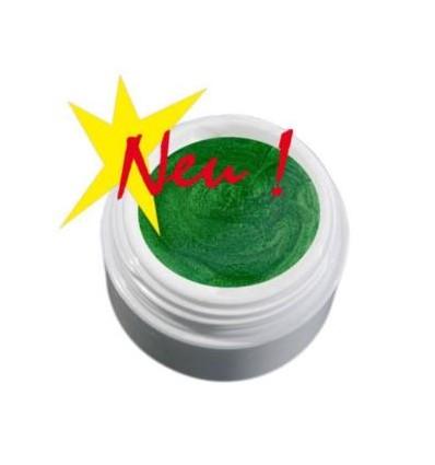 Color Gel  perłowy ciemno/zielony żel, 5g