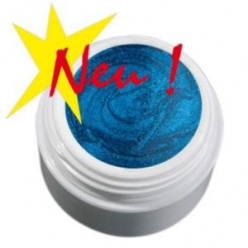 Color Gel  perłowy niebieski żel, 5g