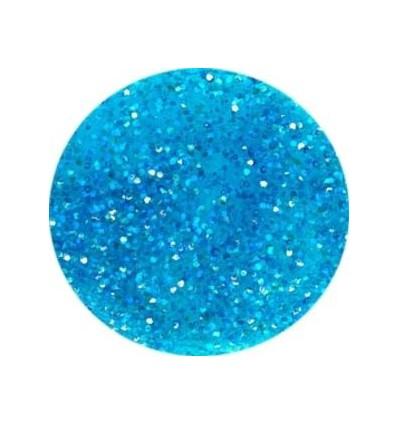 Akrylowy puder 5g brylantowy niebieski z brokatem