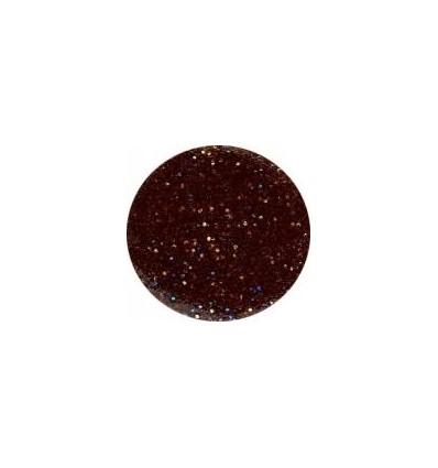Akrylowy puder 5g brązowyz brokatem