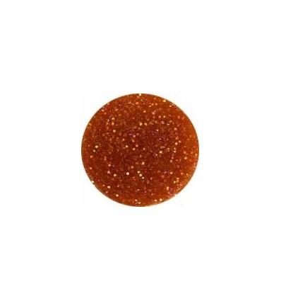Akrylowy puder 5g ciemny jasny brąz z brokatem