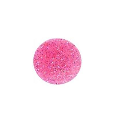 Akrylowy puder 5g róż z brokatem