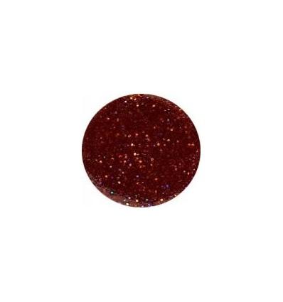 Akrylowy puder 5g czerwony brąz z brokatem