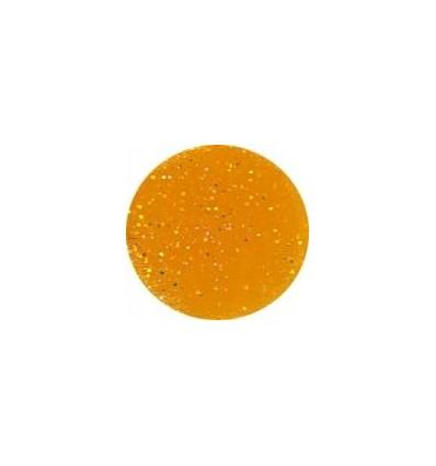 Akrylowy puder 5g słoneczna żółć z brokatem