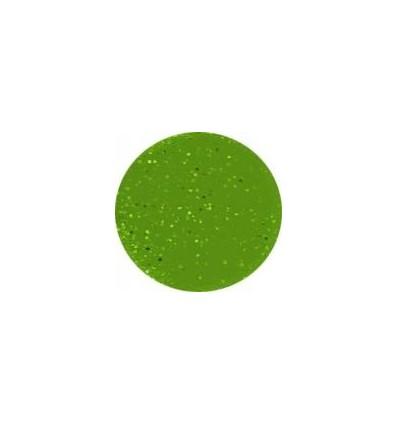 Akrylowy puder 5g zielone kiwi z brokatem