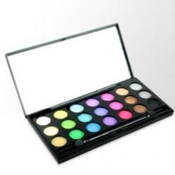 Rainbow Eyes profesjonalna paleta 21 cieni
