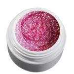 Color Gel różowy brokatowy żel, 5g