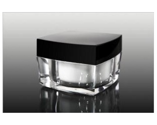 Słoiczek kwadratowy z termosem 50ml szklany