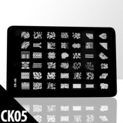 Blaszka do stempli duża CK-05