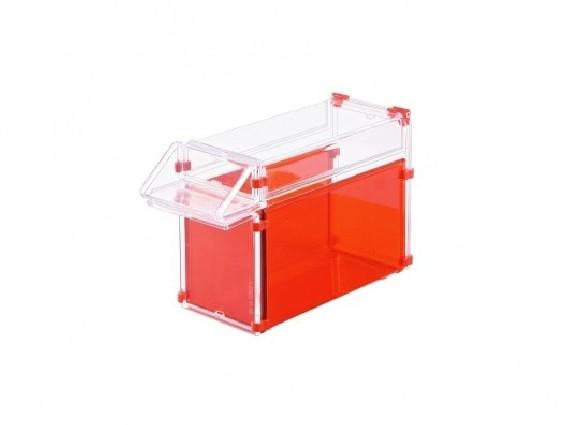 Pojemnik na waciki w rolce różne kolory 131