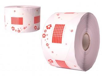 Formy szablony 500 szt. szerokie różowe