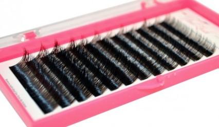 Rzęsy z norek MINK Z15 2.0B 7-15mm