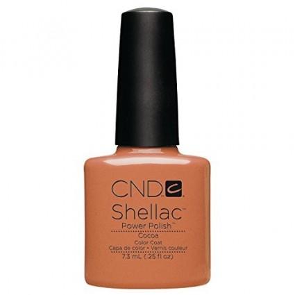 CND SHELLAC COCOA 40514