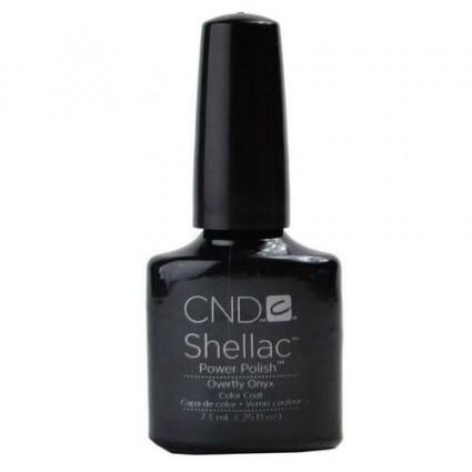 CND SHELLAC OVERTLY ONYX