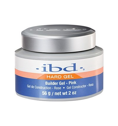 Żel UV IBD Strong Builder pink 56g