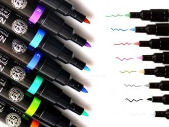 FLAMASTER PISAKI DO ZDOBIEŃ PAZNOKCI 8 kolorów