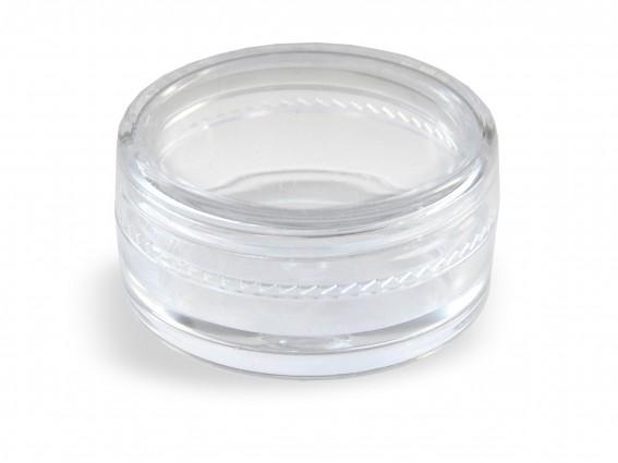 Pojemniczek plastikowy - Plastikbehälter 3cm okrąg