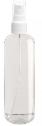Butelka 100 ml z atomizerem i nasadką mleczna HDPE