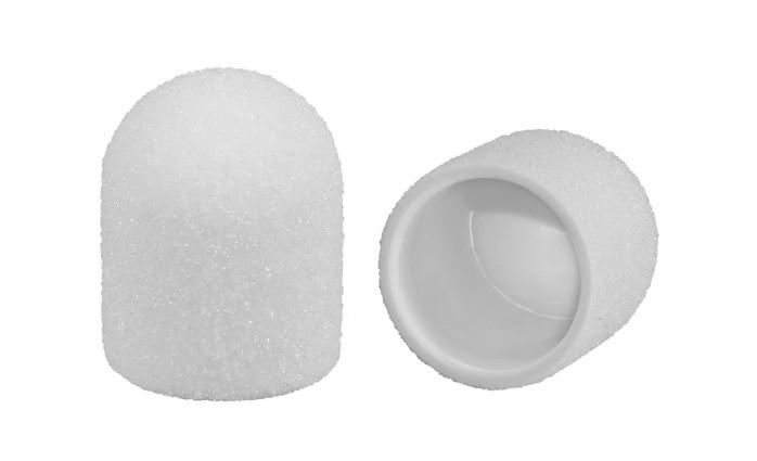 Nakładki kapturki ścierne białe korund szlachetny  LUX 10 150 10szt