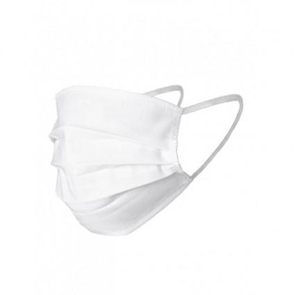 Oddychająca maska ochronna na gumce bawełniana wielorazowa 1 szt.