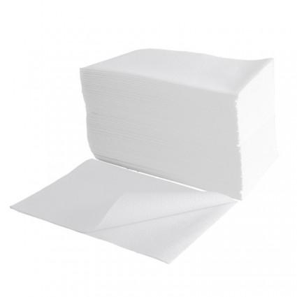 Ręcznik z włókninyn BASIC gładki 70x40 (100szt)