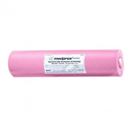 Higieniczny różowy podkład serweta Mini-Med