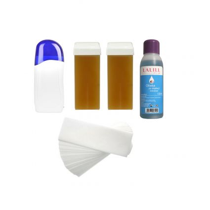 Zestaw do depilacji LALILL 1 - Podgrzewacz, woski w rolce