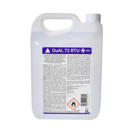 DuAL 72 RTU 5L: płyn do dezynfekcji rąk i powierzchni