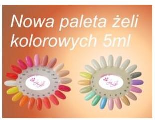 Żel kolorowy Exclusive 5ml - Kolorgel 5ml