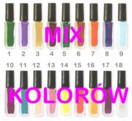 Nail Art Liner Mix Kolorów 2 w cenie 1